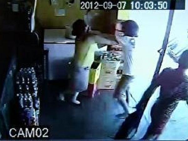 Foto: G1. Mulher Reage a assalto e bandidos fogem sem levar nada