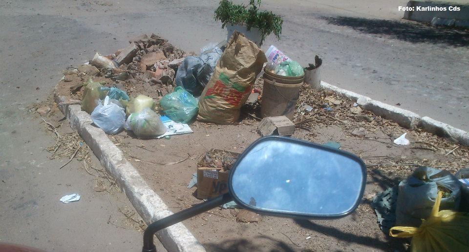 Lixo nas Ruas de Milhã
