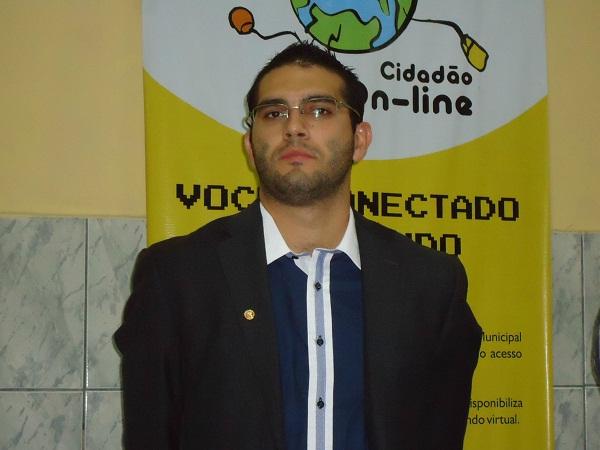 Promotor de Justiça Dr. Déric Funck Leite/ Foto: Blog Solonópole
